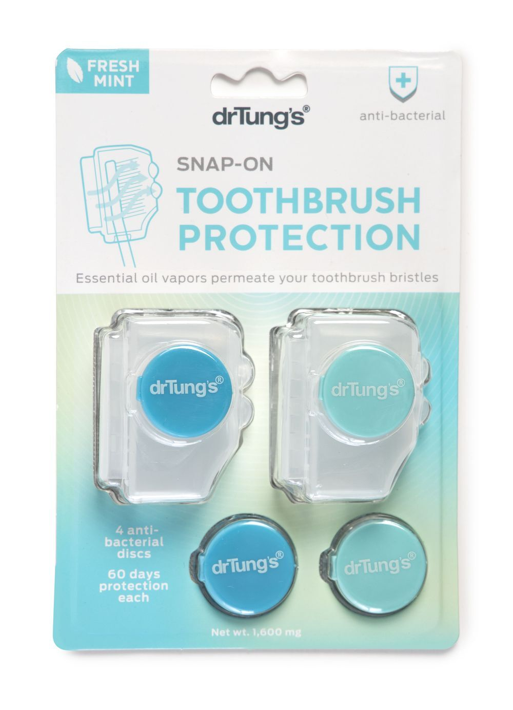 Dr Tung's Snap-on Toothbrush Protectors