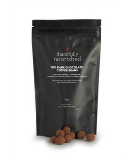 70% Dark Chocolate Coffee Beans 100g