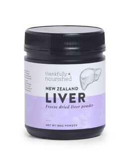 Thankfully Nourished New Zealand Liver Powder 180g
